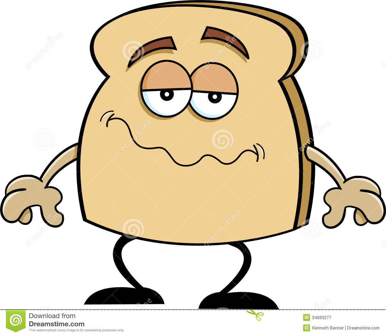 Toast Animated Pictures Coloring Pages