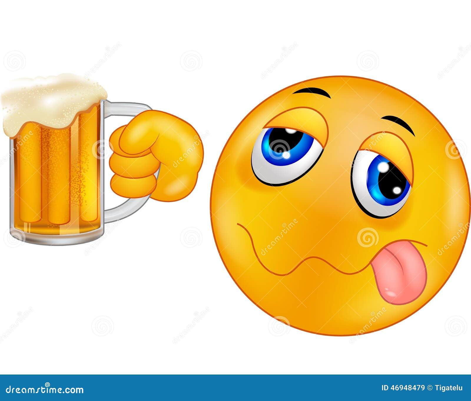 Cartoon Smiley emoticon Drunk Emoticon