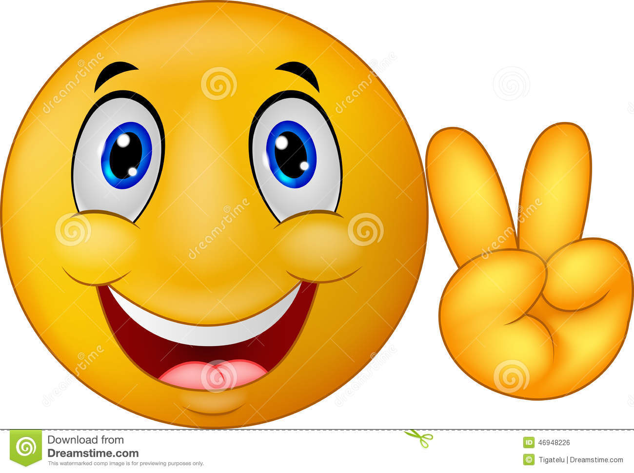 Cool Smiley Face Thumbs Up Cartoon Smiley Emotico...