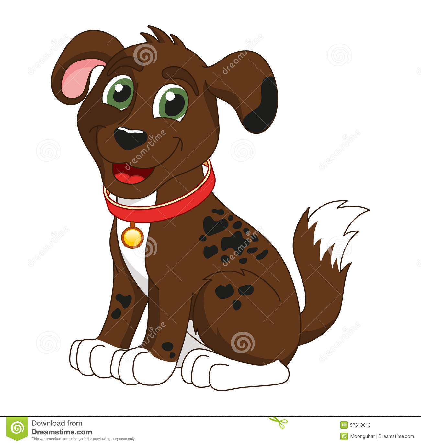 Dark Red Dog Collar