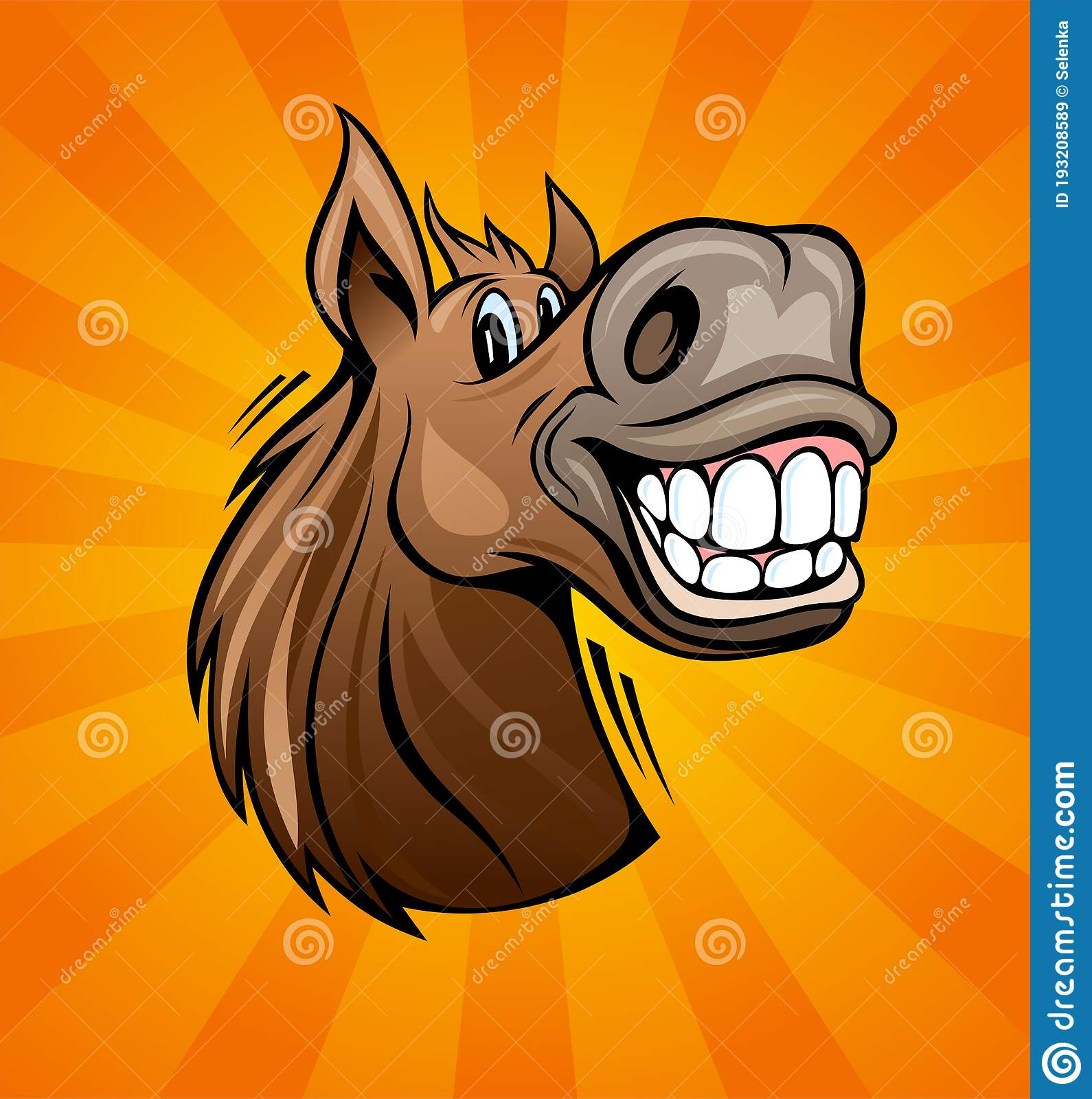 Funny Horse Head Smiling Stock Illustrations 167 Funny Horse Head Smiling Stock Illustrations Vectors Clipart Dreamstime