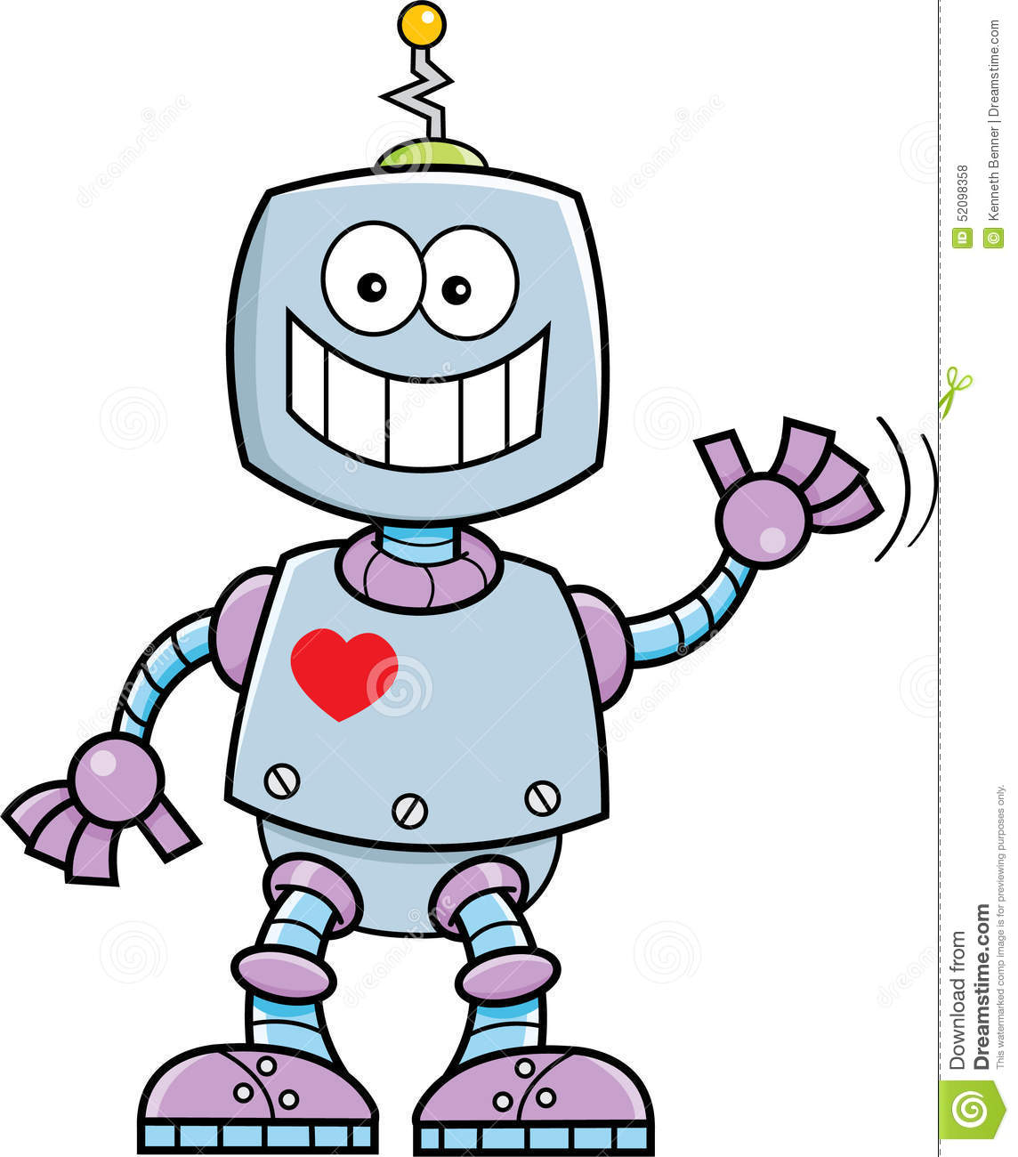 Smiling Robot Stock Vector Illustration And Royalty Free Smiling ...