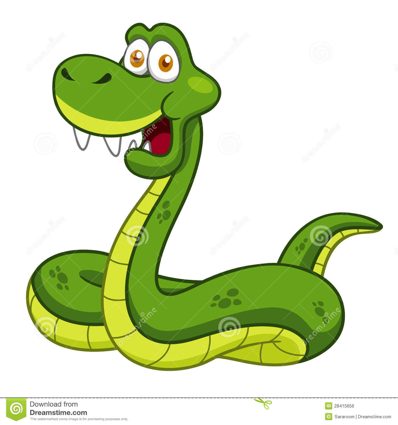 Royalty Free Stock Image Cartoon Snake Image28415656 on Green Spiral Symbol