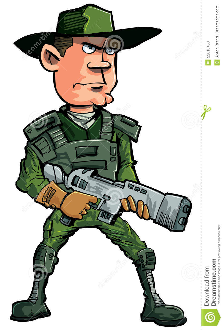 Cartoon Soldier Stock Images - Download 806 Royalty Free ...