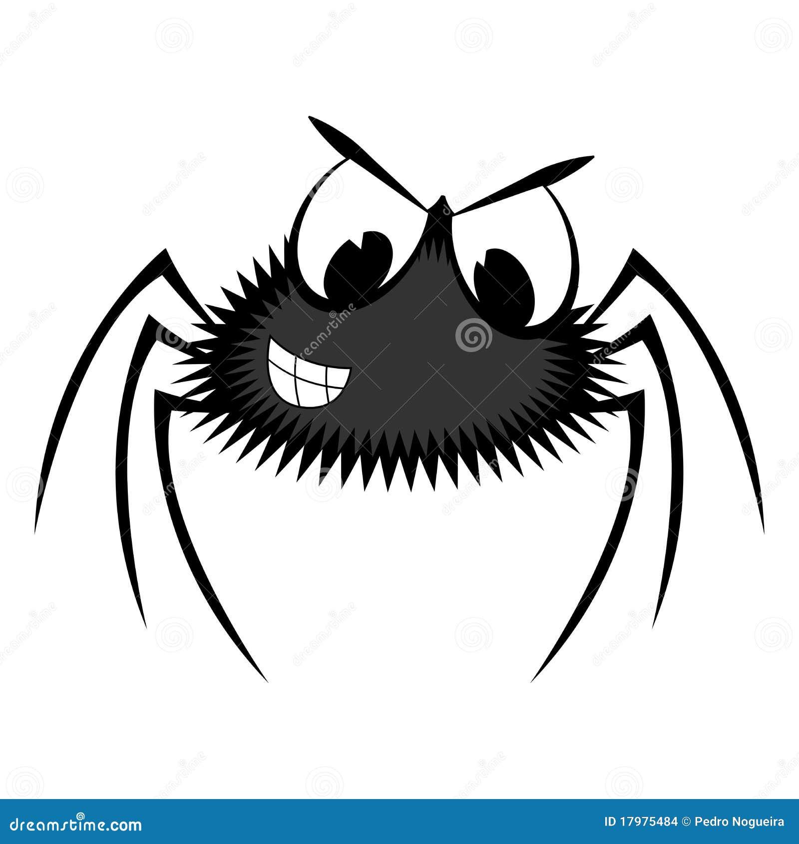 Kleurplaat Xl Cartoon Spider Stock Images Image 17975484