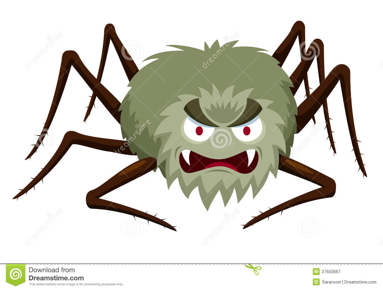 Cartoon Spider Royalty Free Stock Photography - Image: 27650667