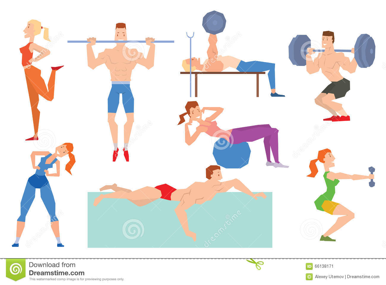 Group Fitness Exercises 27