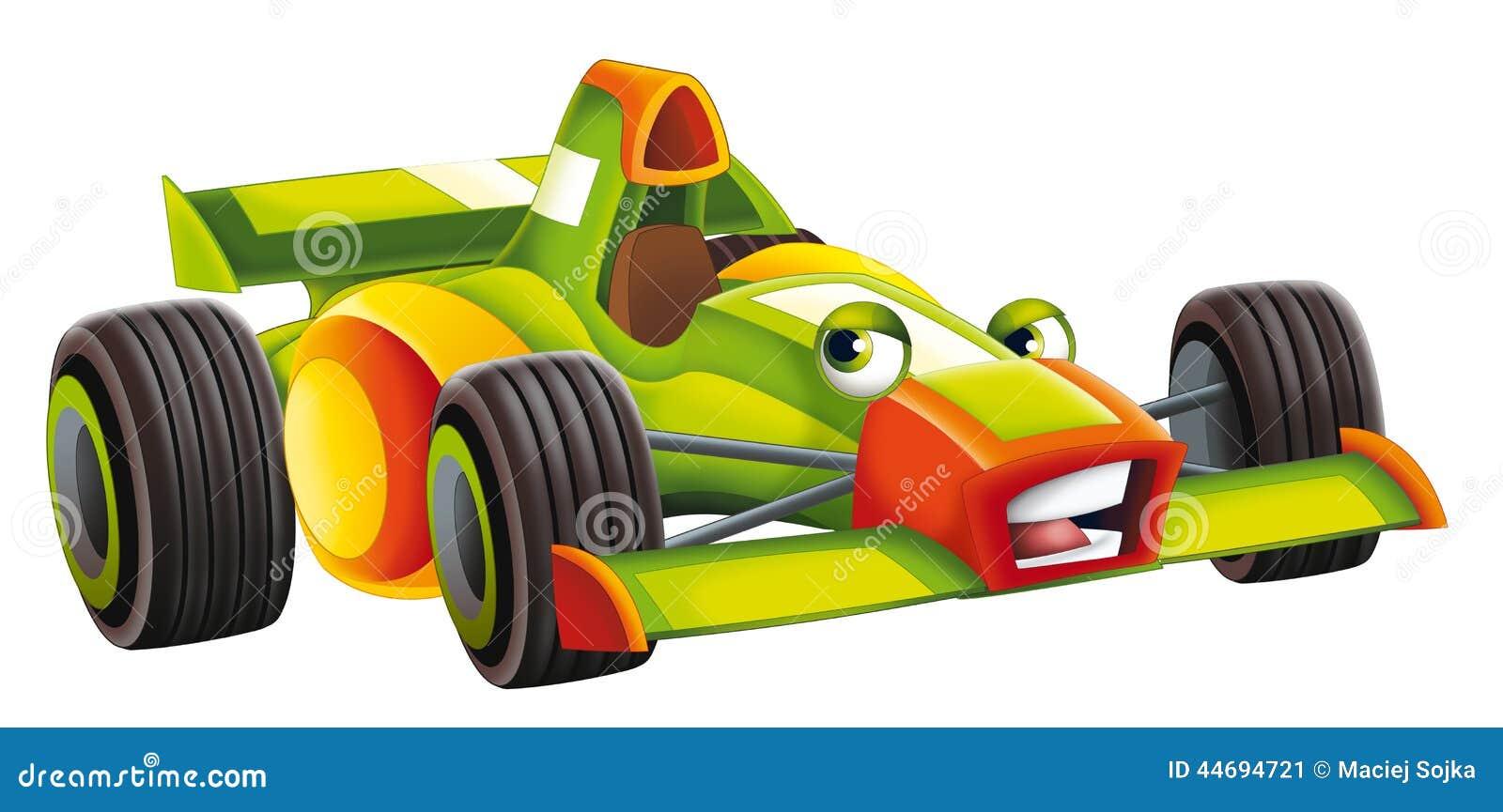 cartoon sports car racing stock illustration image 44694721