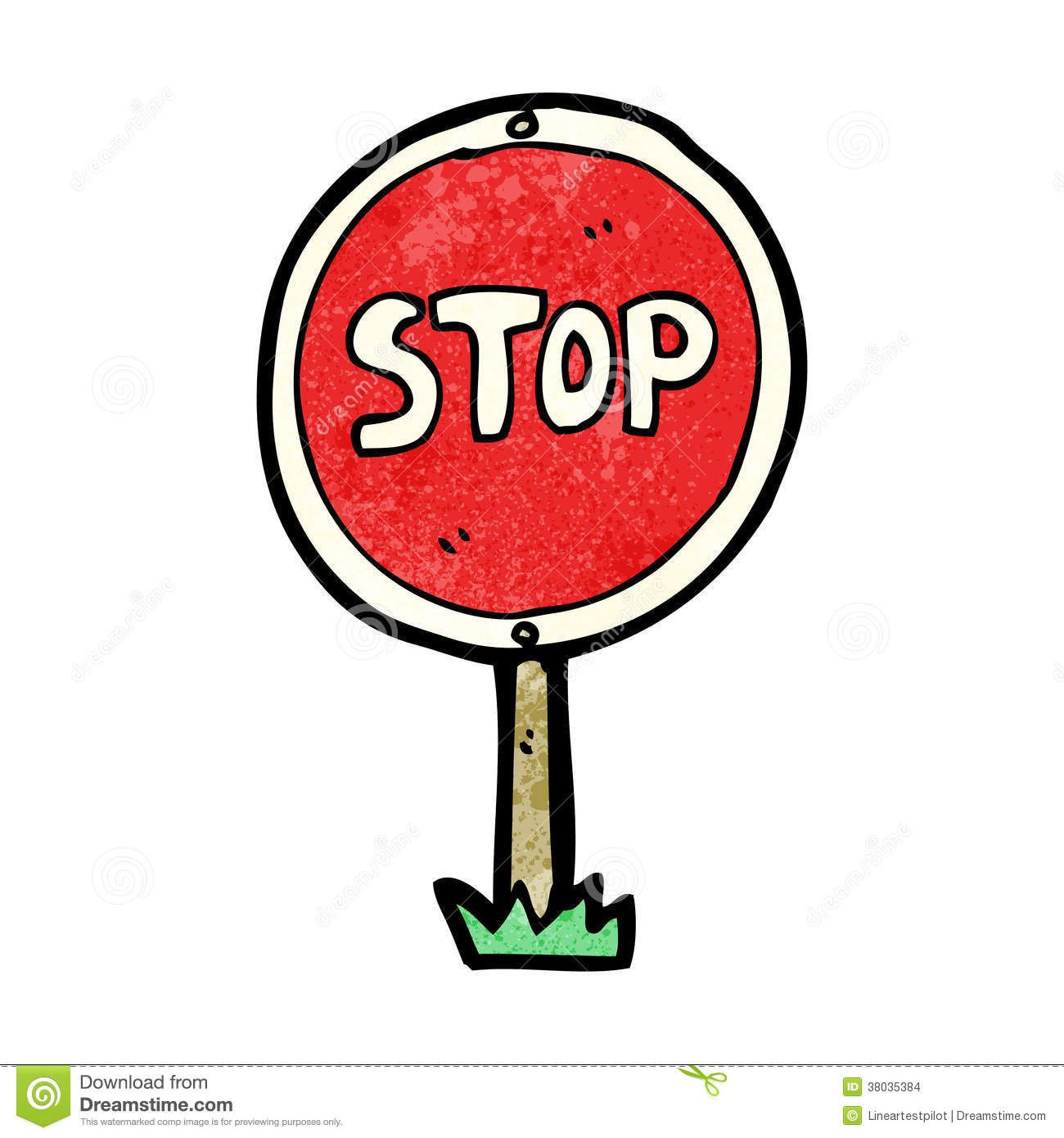 More similar stock images of ` cartoon stop sign `