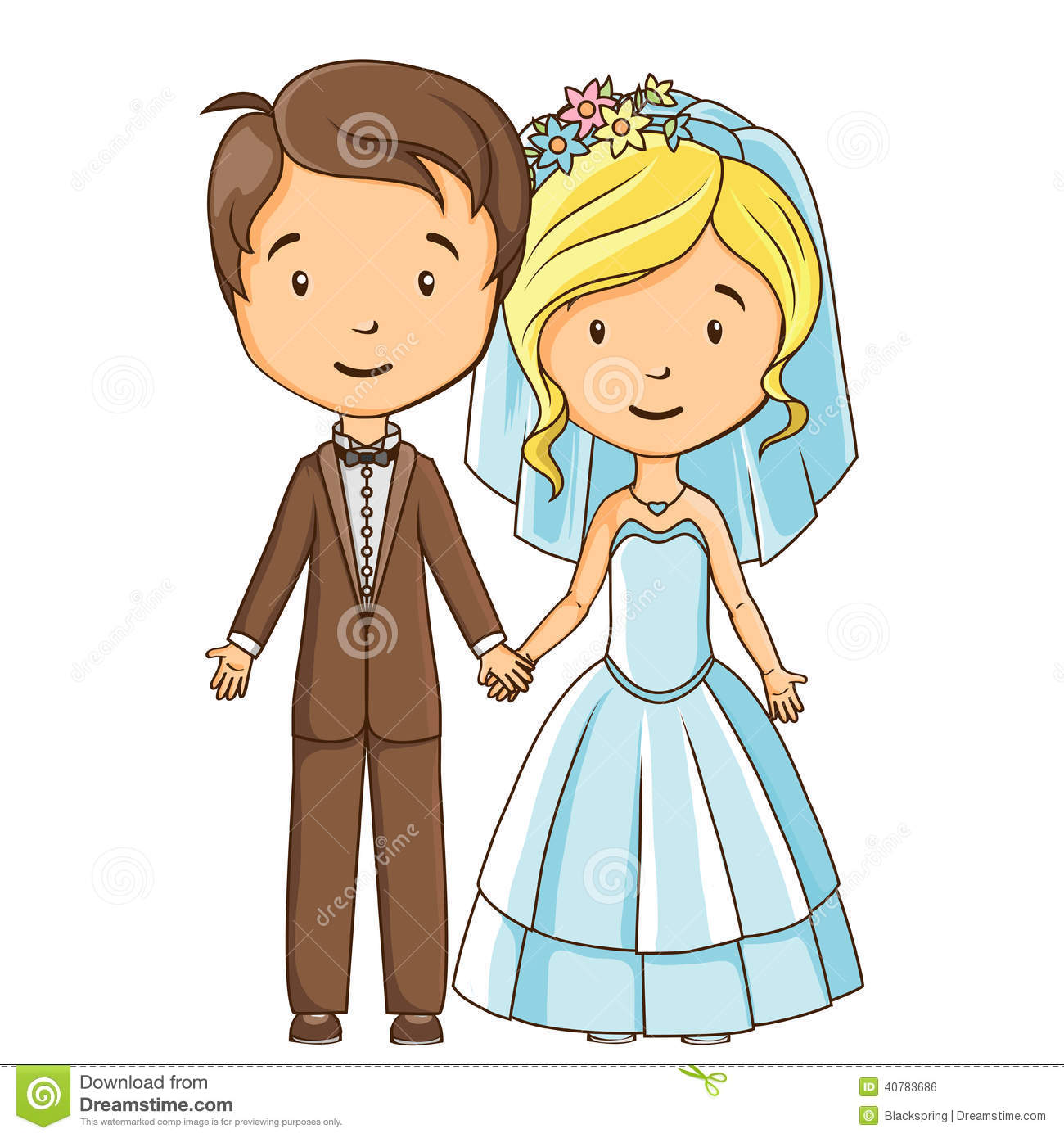 cartoon style bride and groom stock vector illustration of dress rh dreamstime com bride and groom cartoon image indian bride and groom cartoon images