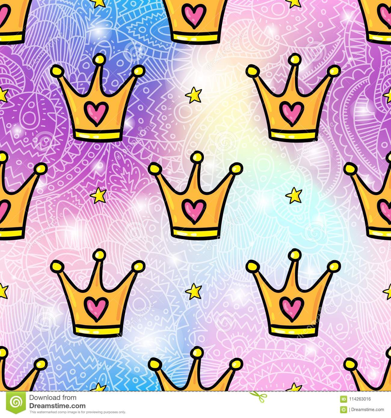 Cartoon Style Crowns Seamless Pattern Background Stock Vector Illustration Of Black Decorative 114263016 Find & download free graphic resources for crown cartoon. https www dreamstime com cartoon style crowns seamless pattern background vector seamless pattern design background trendy hipster gold crown cartoon image114263016