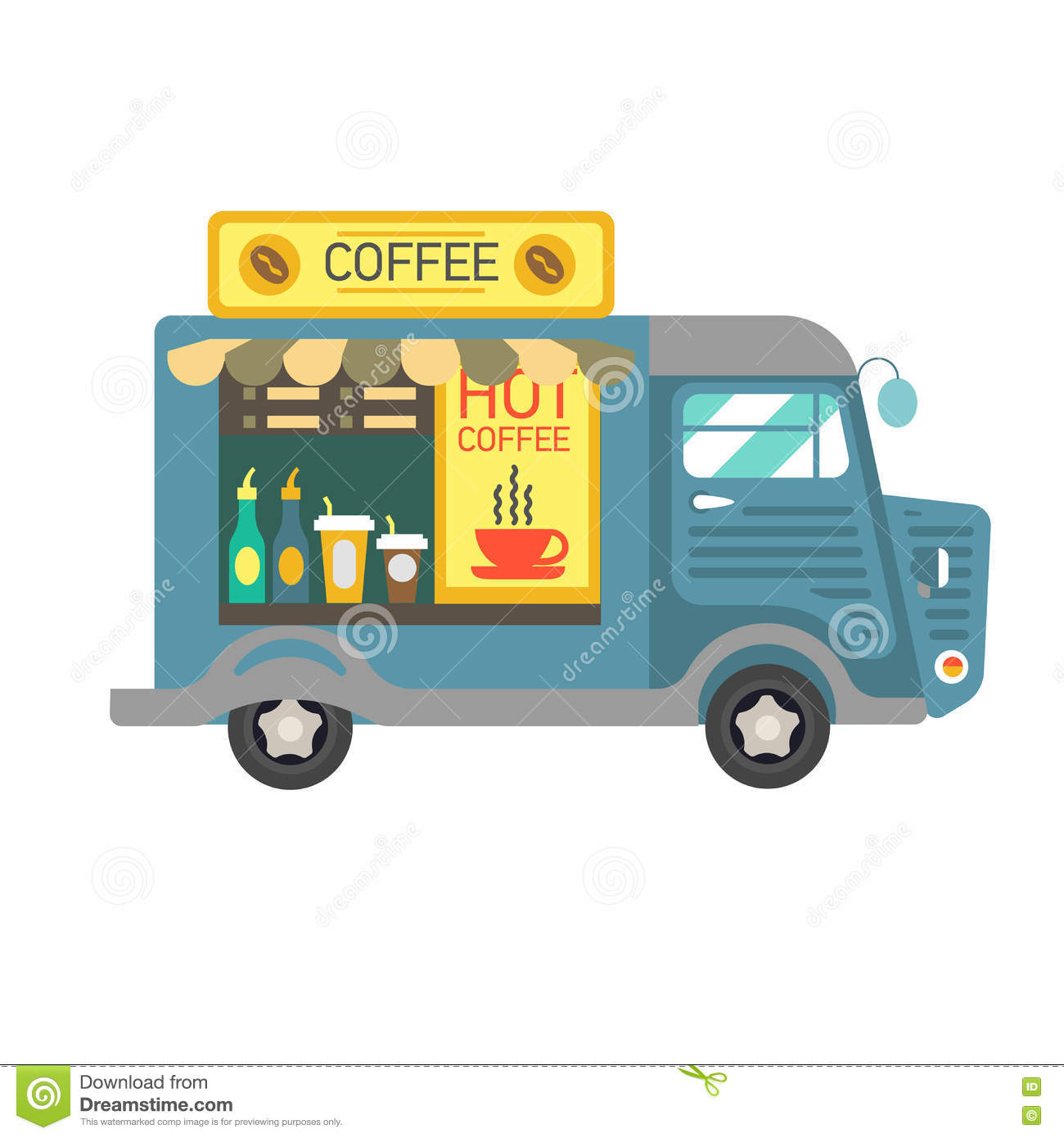 how to buy a coffee van business