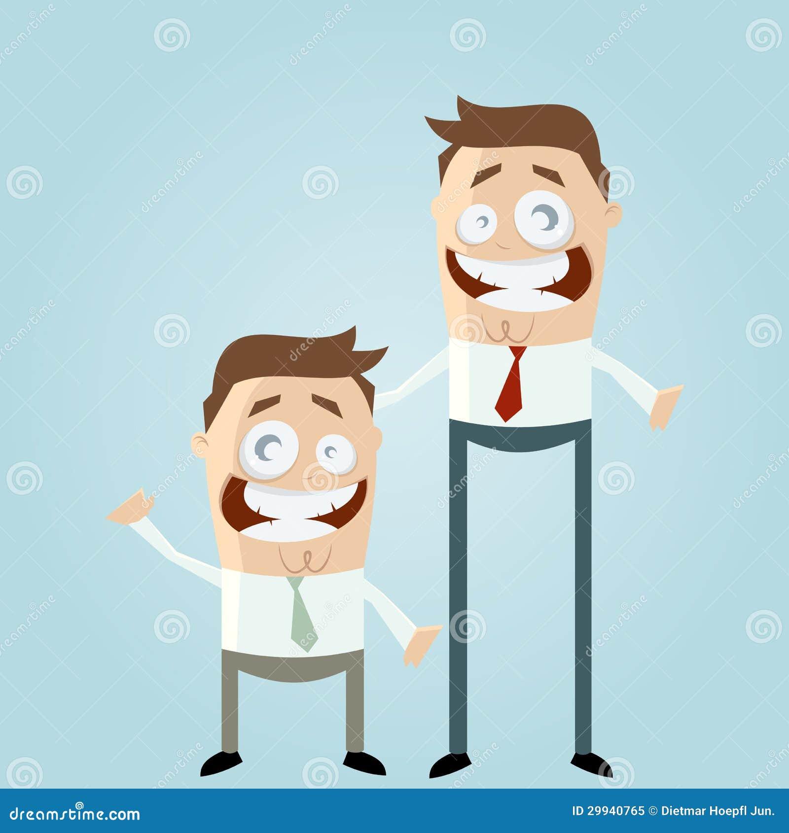 Short Tall Men Stock Illustrations 41 Short Tall Men Stock