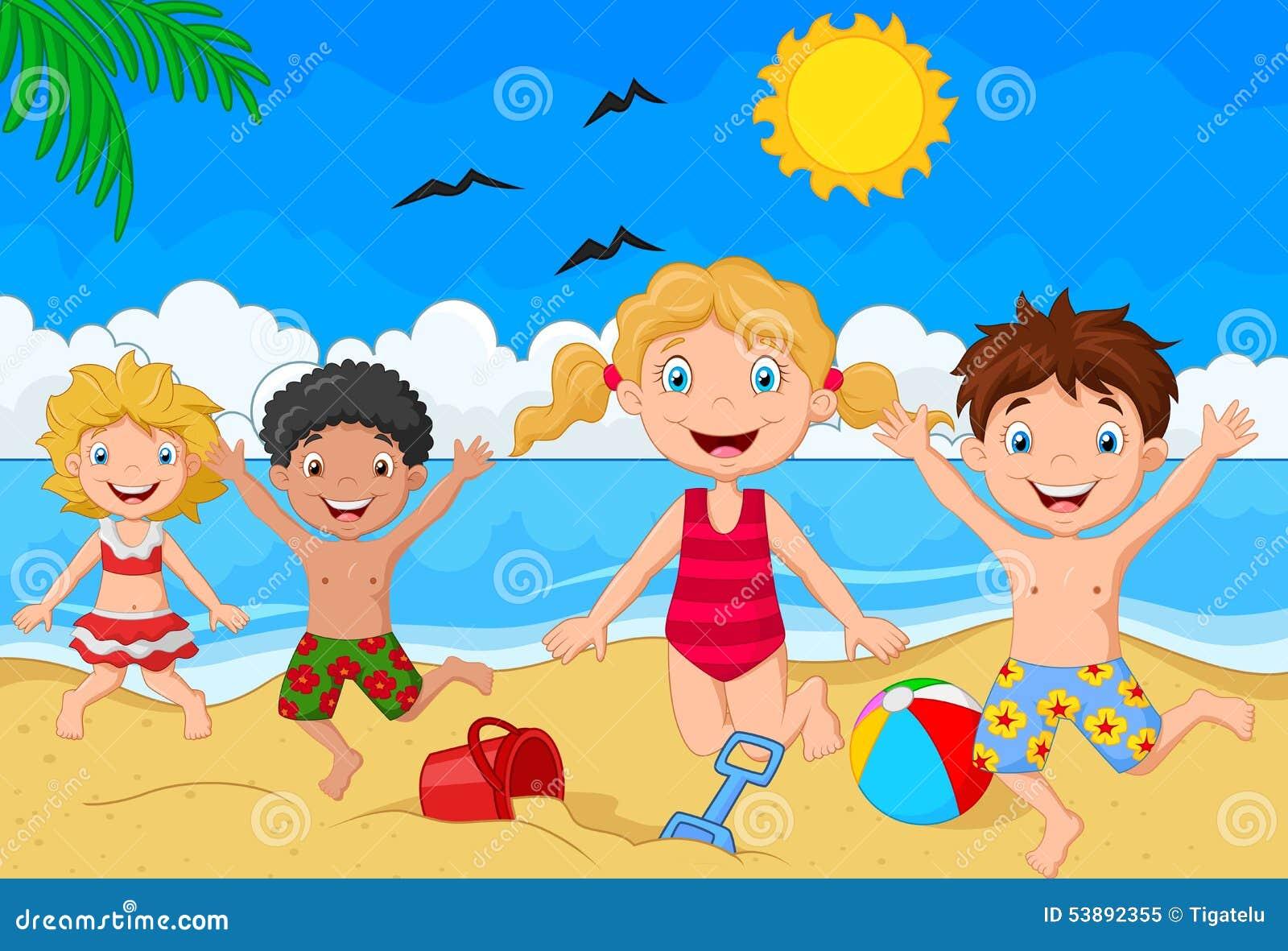 Vegetable garden kids drawing - Cartoon Summer Day Stock Vector Image 53892355