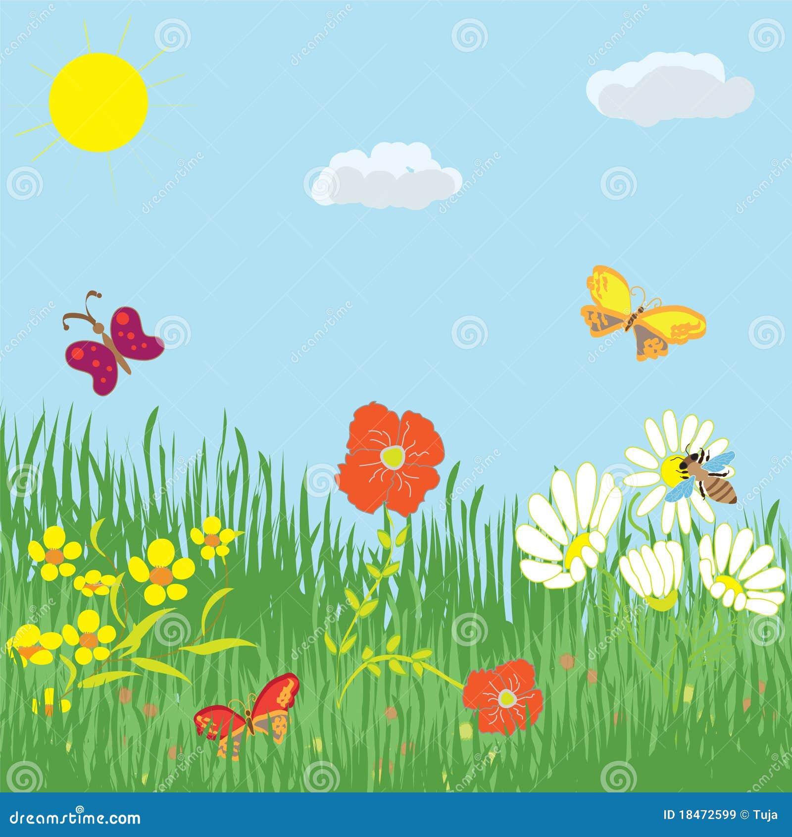 Рисунок солнышко и лето