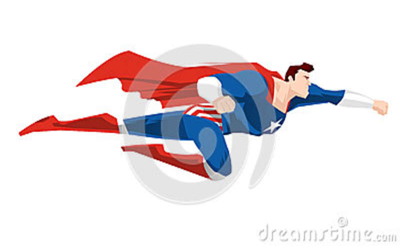 Cartoon Super Hero Flying Stock Illustration Illustration Of Human 86665328