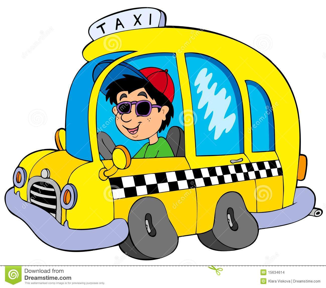 Cartoon Taxi Driver Stock Images - Image: 15634614: www.dreamstime.com/stock-images-cartoon-taxi-driver-image15634614