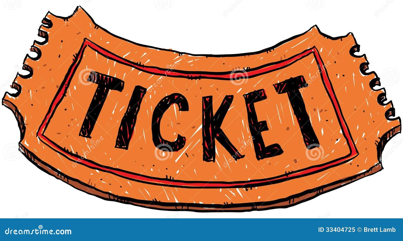 Cartoon Ticket Royalty Free Stock Photo - Image: 33404725