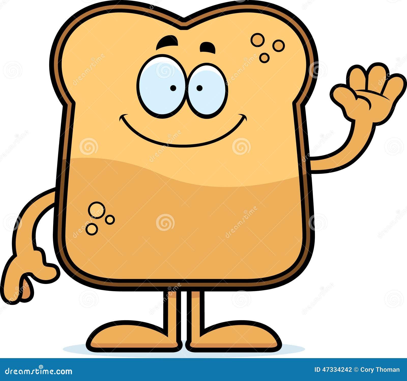 cartoon toast waving stock vector image 47334242 Lasso Clip Art Western Santa Claus