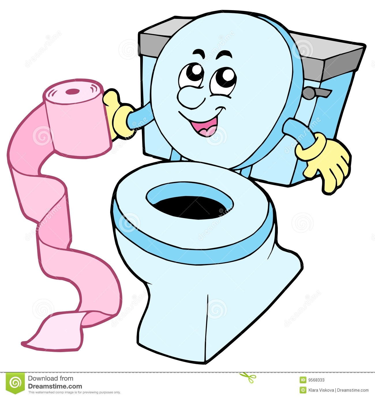 Cartoon Toilet Stock Illustrations 4584 Vectors Clipart