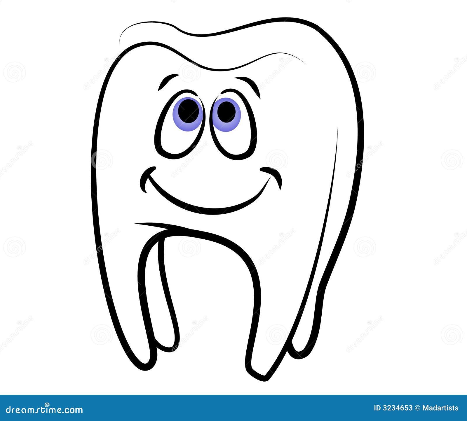 cartoon tooth dental clip art stock illustration illustration of rh dreamstime com dental clipart free dental clip art for valentimes day
