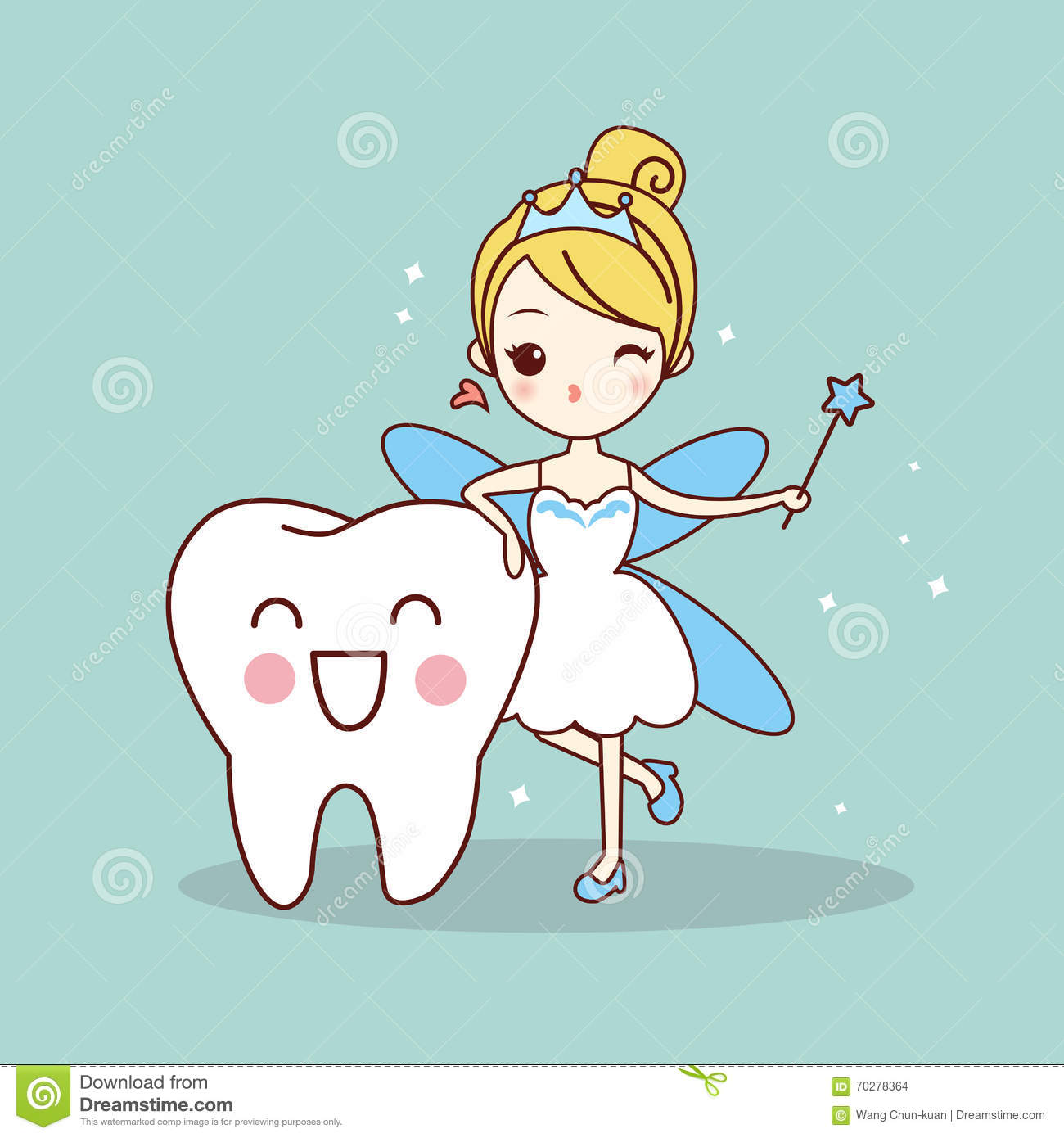 cartoon tooth with tooth fairy stock vector image 70278364 tooth fairy clipart boys tooth fairy clipart images png free