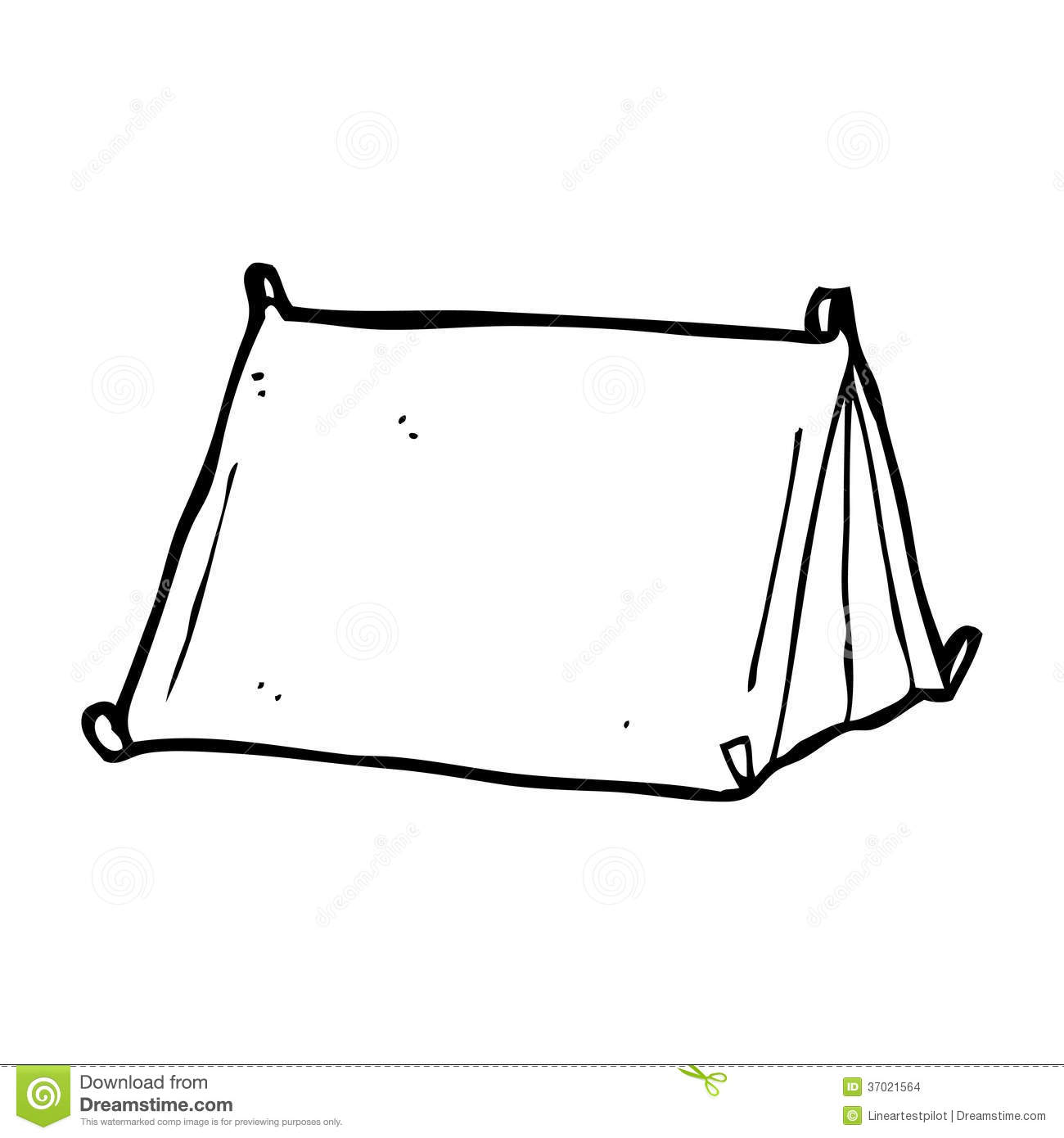 cartoon traditional tent  sc 1 st  Dreamstime.com & Cartoon traditional tent stock illustration. Illustration of funny ...