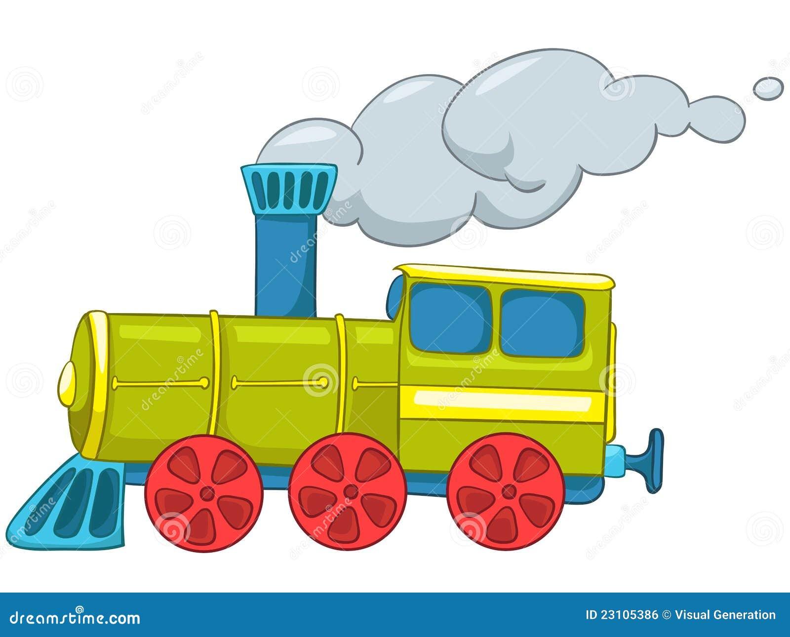 Cartoon Train Royalty Free Stock Image Image 23105386