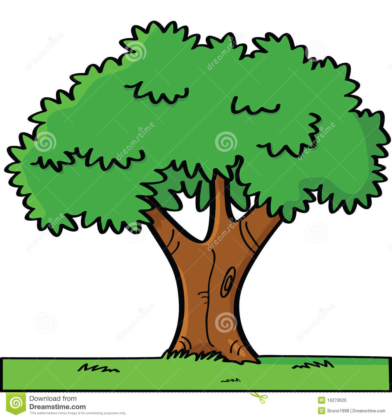 How To Read A House Plan Cartoon Tree Stock Photo Image 16270620