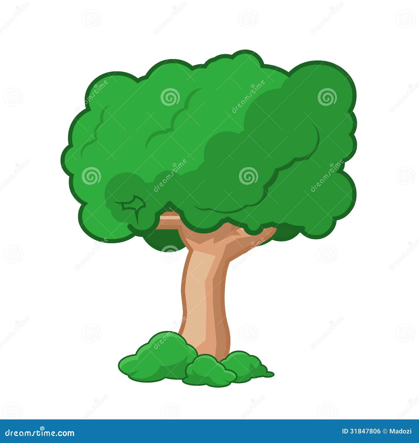 Cartoon Tree Is... Free Clipart Of Christmas Tree