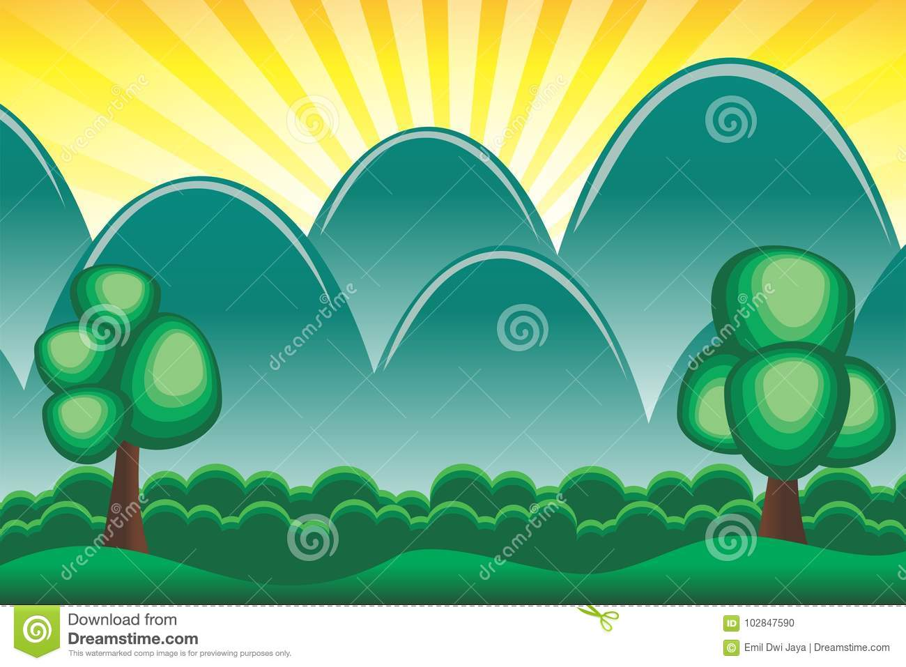 Download Wallpaper Mountain Cartoon - cartoon-tropical-forest-mountain-background-wallpaper-102847590  Pic_776291.jpg