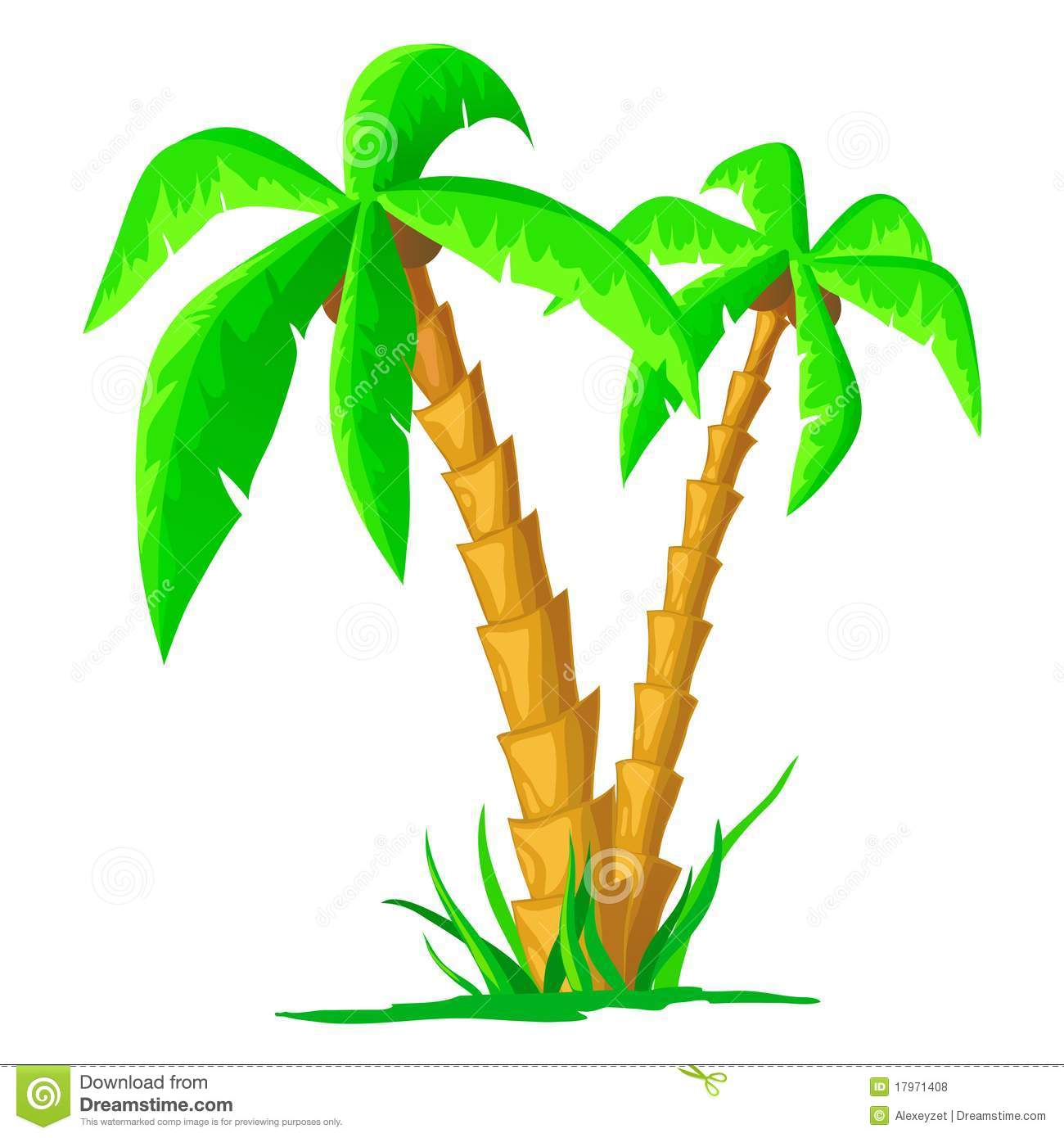 cartoon tropical palm isolated on white background stock vector illustration of leaves clip art palm tree public domain clipart palm tree lizard