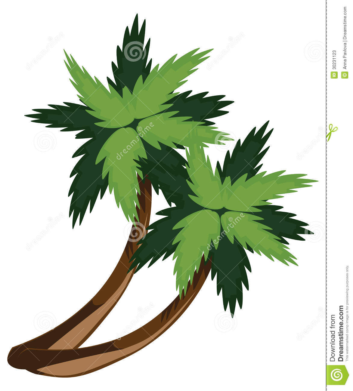 Two Cartoon Palms Stock Photos - Image: 30231123 - photo#45