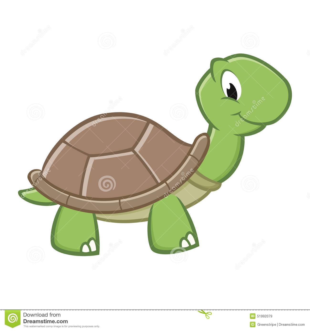 how to draw a cute cartoon turtle