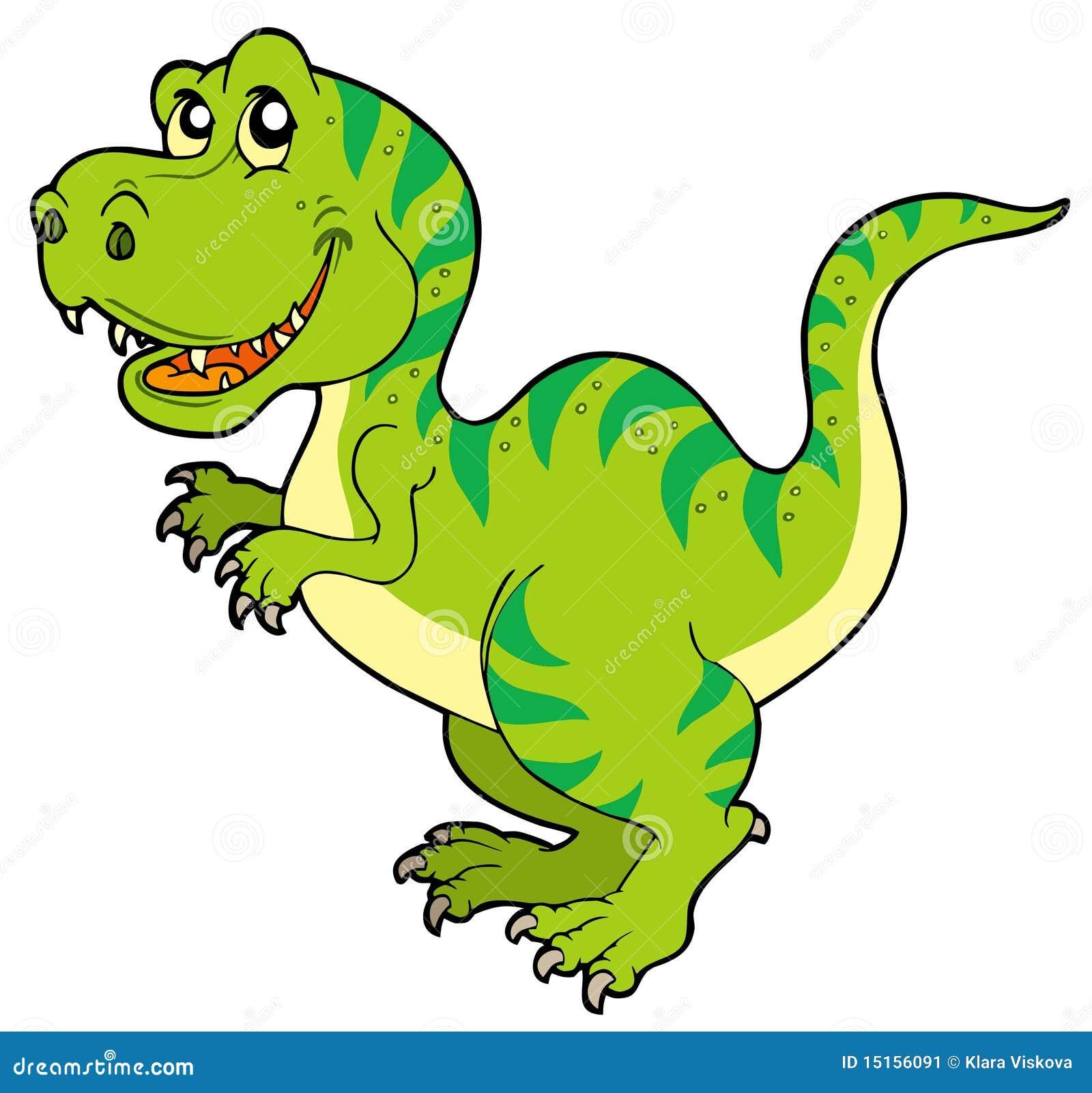 Cartoon Tyrannosaurus Rex Stock Image Image 15156091