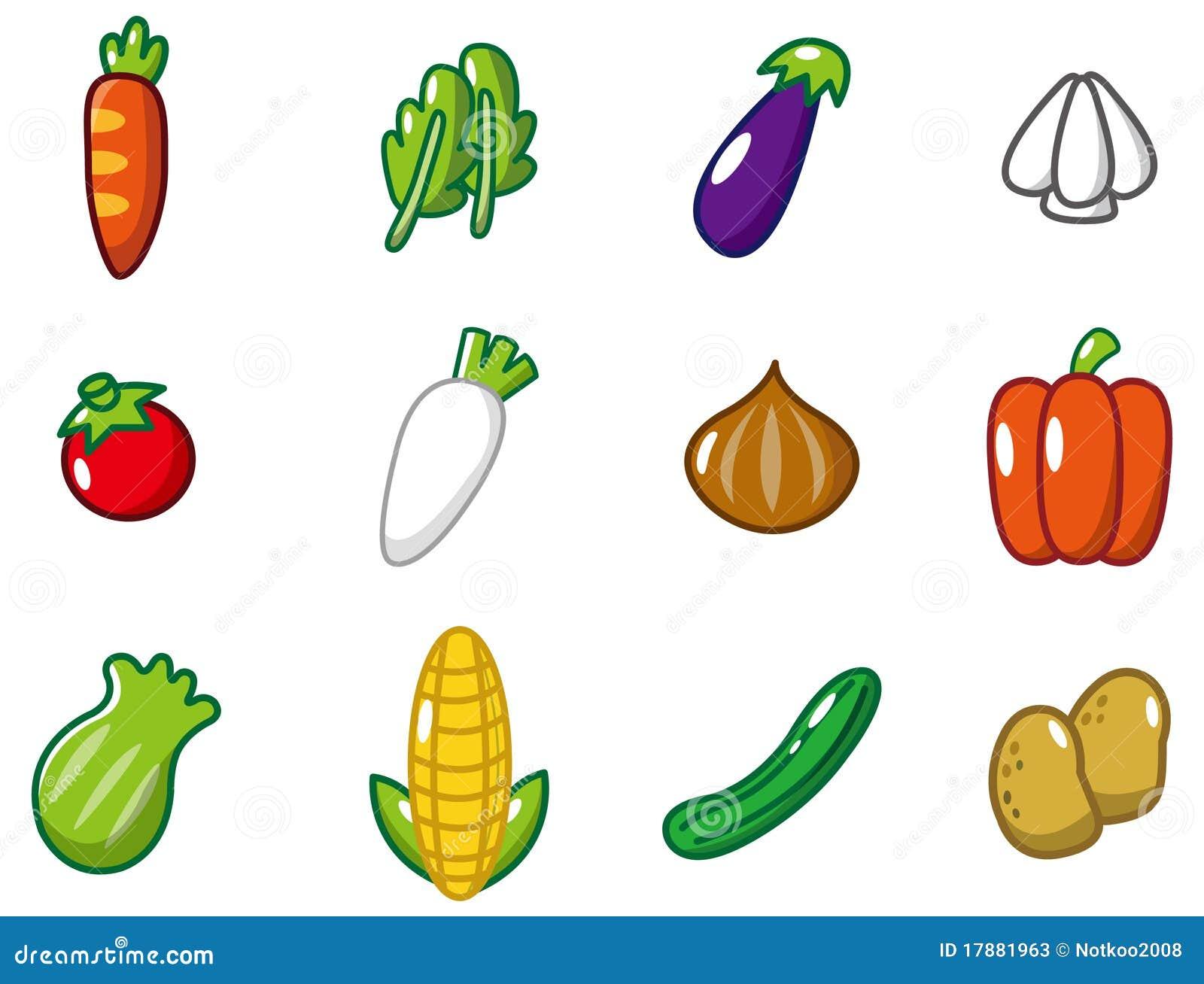Cartoon Vegetables Icon Stock Photos Image 17881963