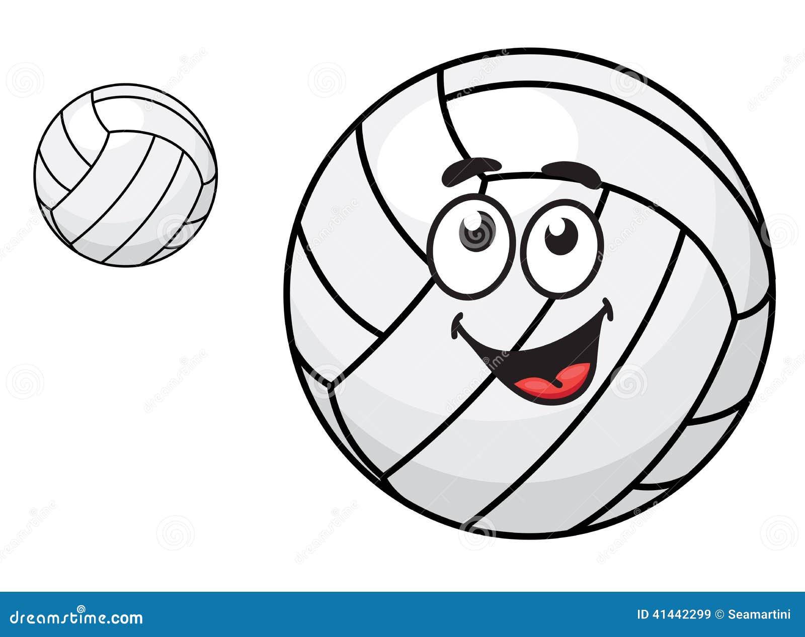 cartoon volleyball clipart - photo #49