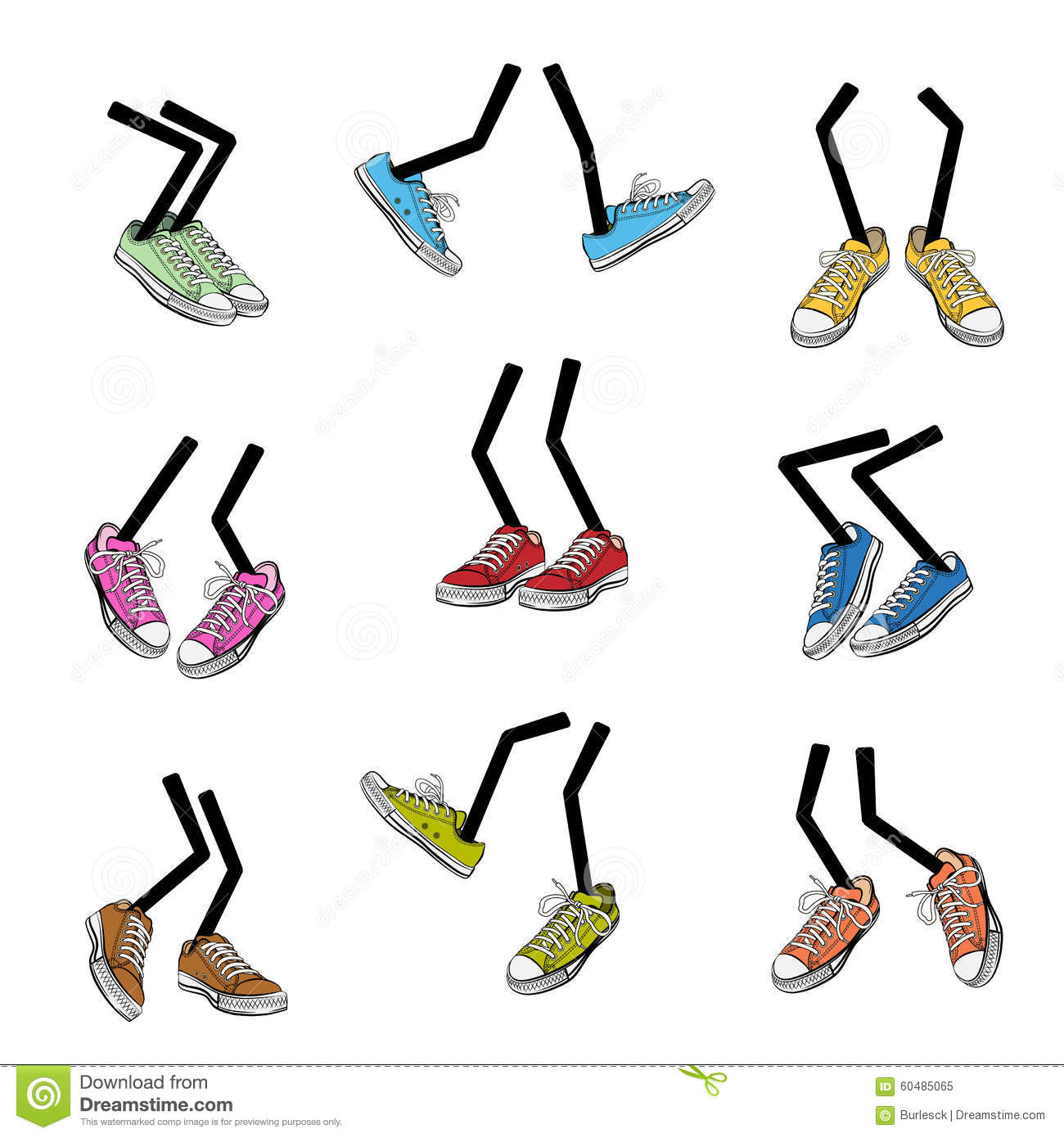 cartoon walking feet stock vector illustration of color sale clip art free image Clip Art Coming Out of Shoe Soles