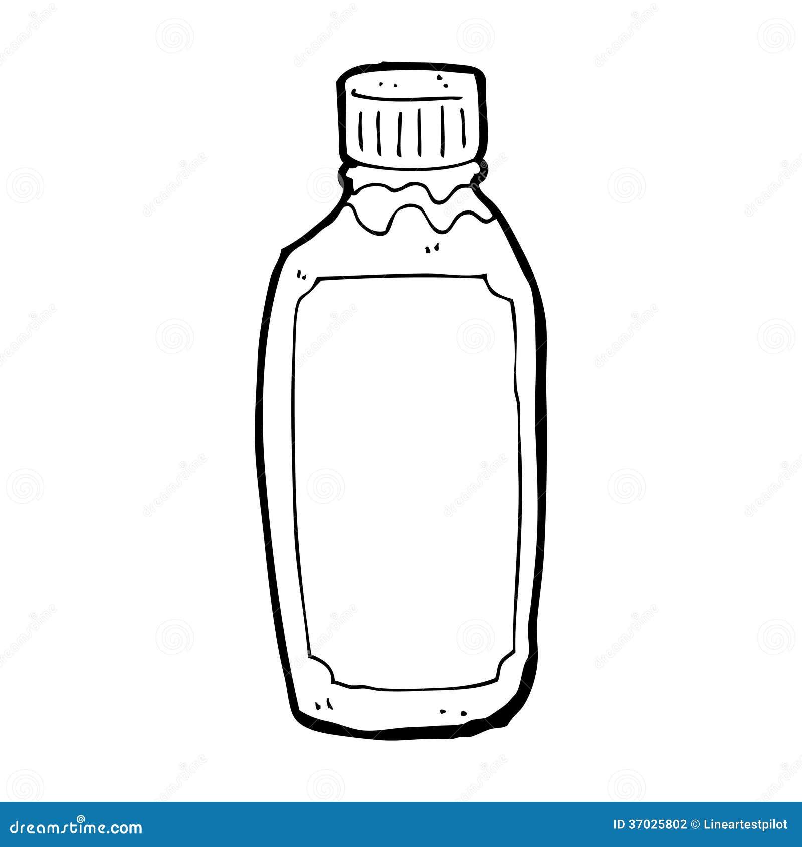 cartoon water bottle stock illustration illustration of cheerful