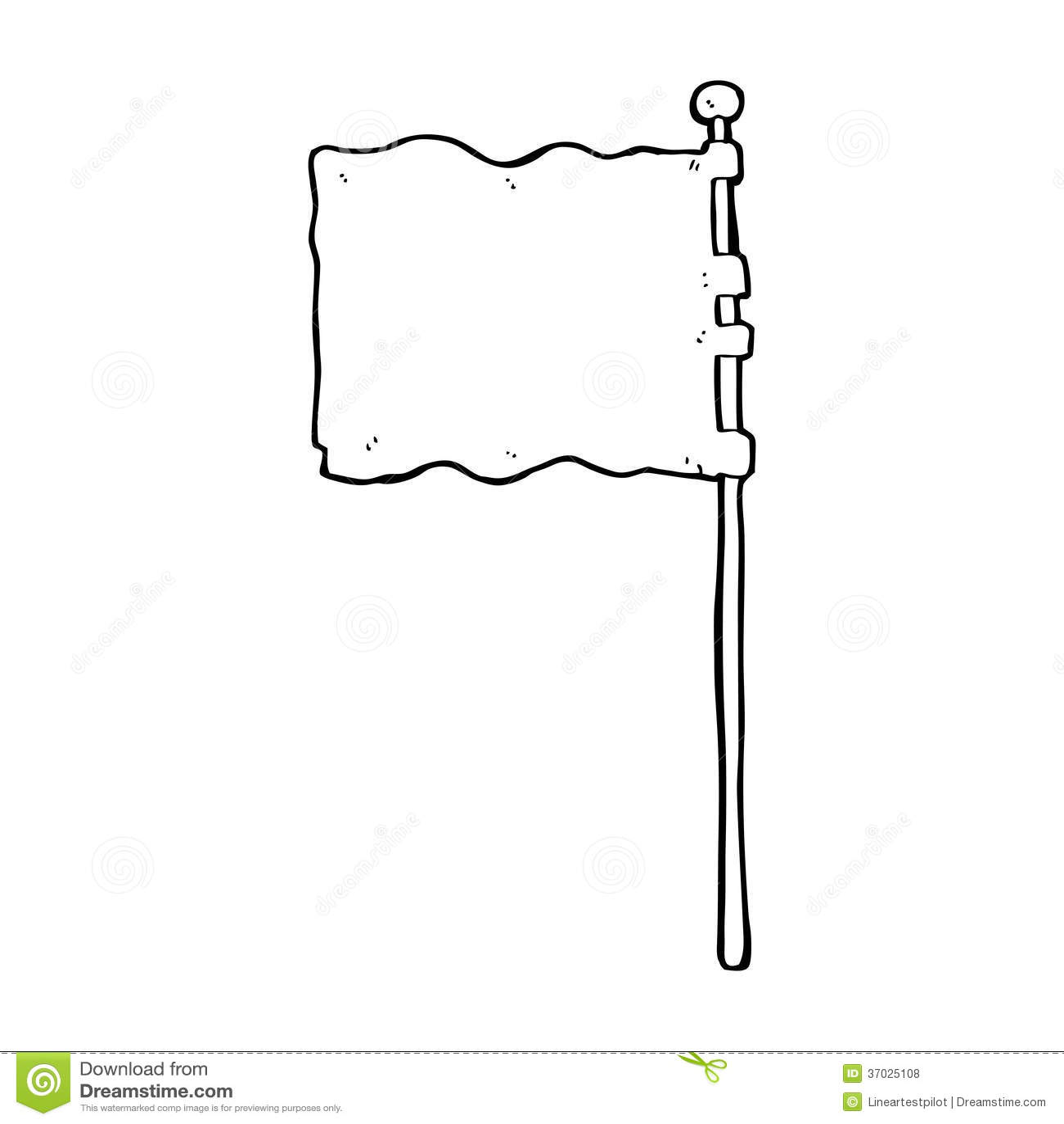 cartoon waving flag royalty free stock photos image 37025108