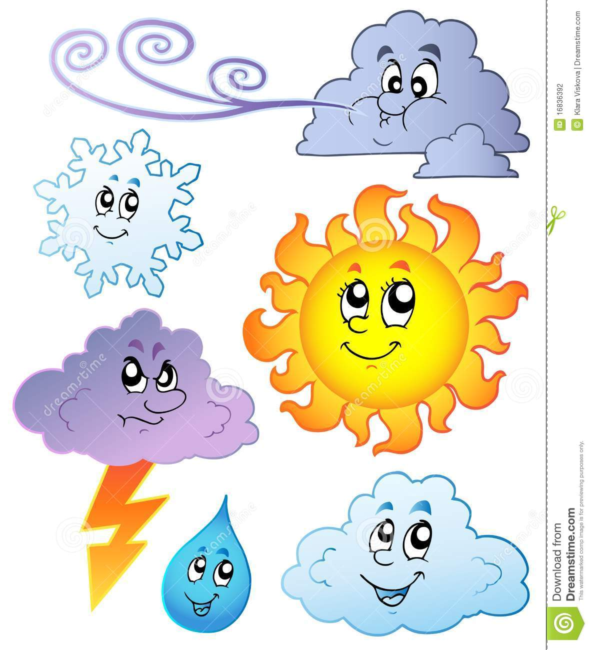 Cartoon Weather Images Stock Photography - Image: 16836392
