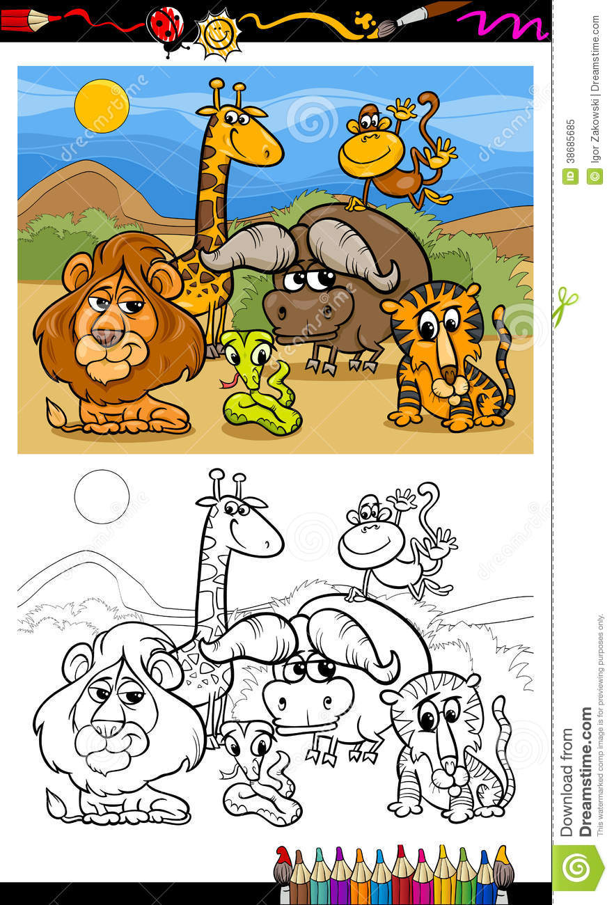 Book Safari  Africanthemed Crafts and Activities