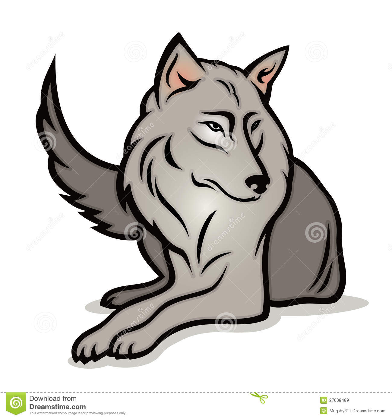 Uncategorized Cute Cartoon Wolf cartoon wolf stock vector image of black cute beast 27608489 royalty free photo download wolf