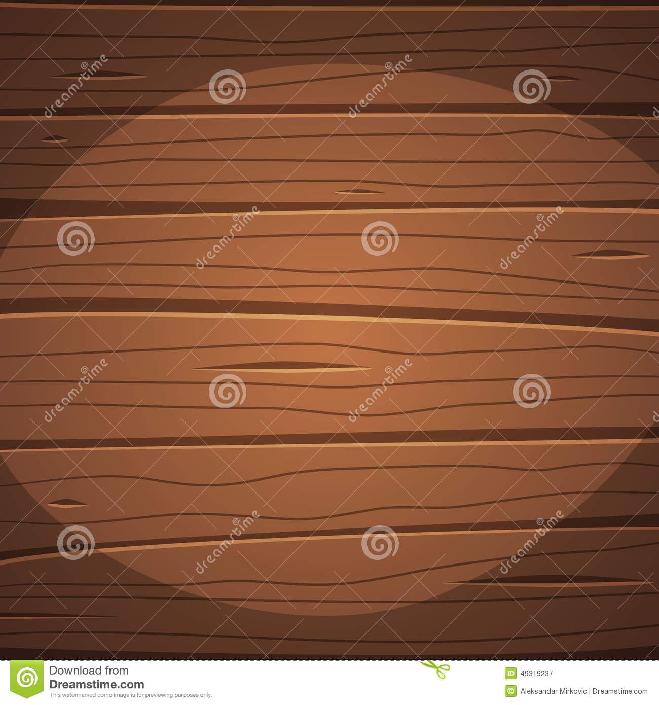 Cartoon wooden surface stock vector illustration of wood