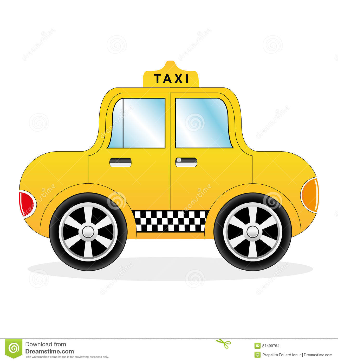 Taxicab by tygerbug on DeviantArt |Yellow Taxi Cab Drawing