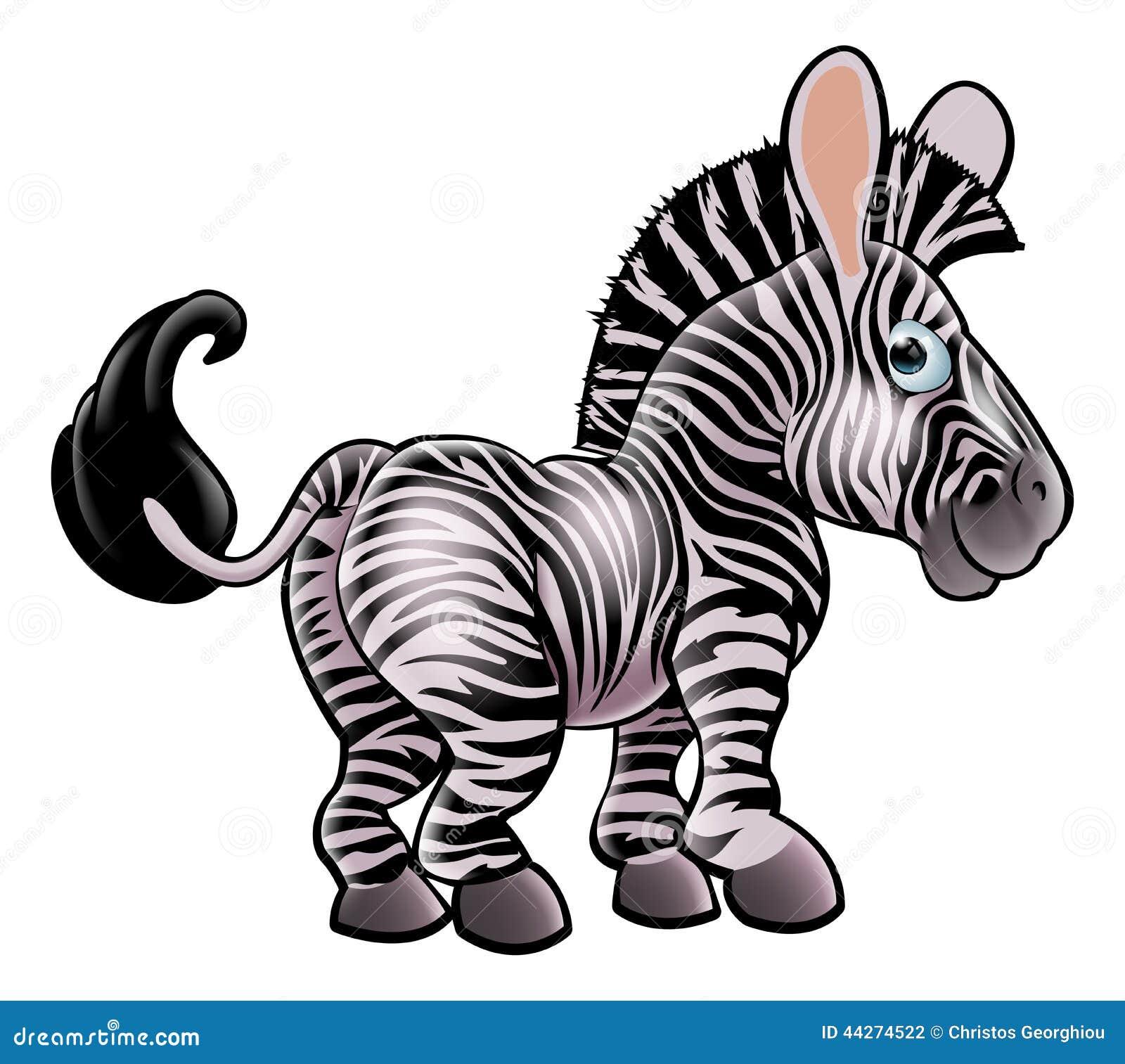 Zebra Baby Clip Art