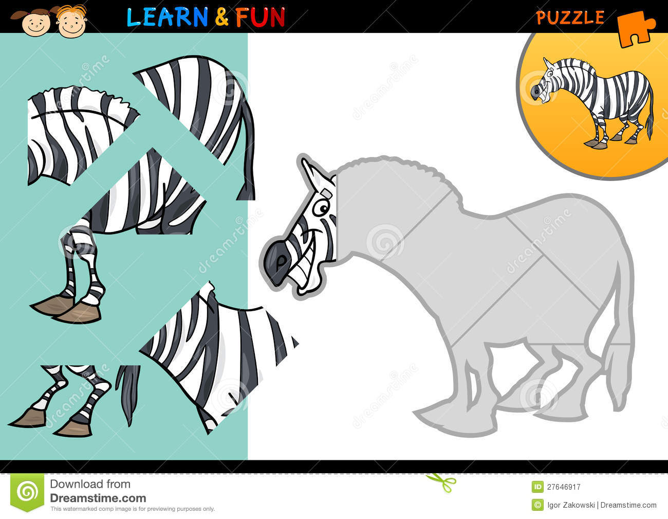 Uncategorized Zebra Game cartoon zebra puzzle game royalty free stock photography image photo download game