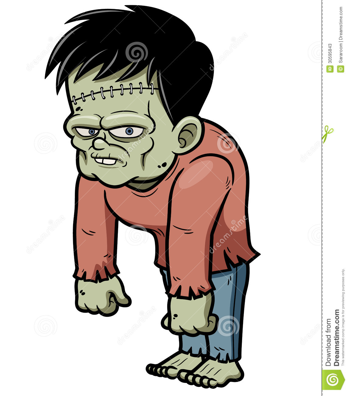 Cartoon Zombie Stock Photos - Image: 30595843