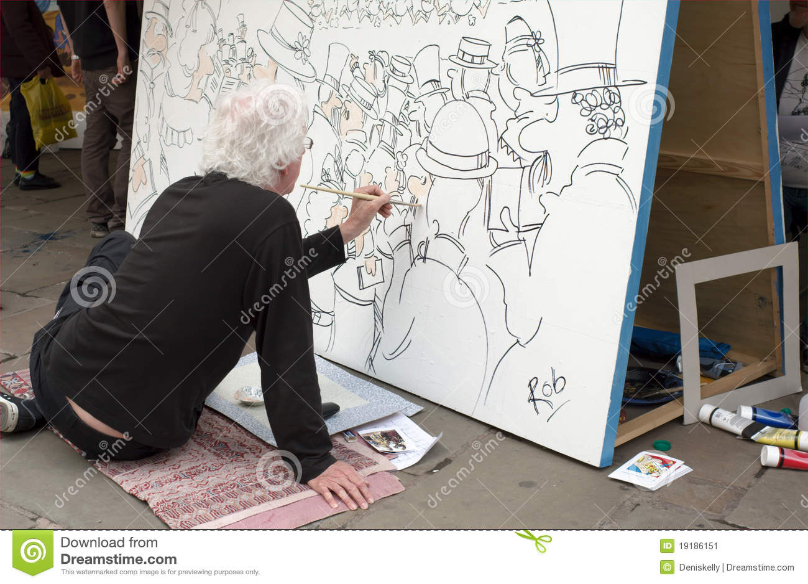 M S Shrewsbury Cartoonist At Work Edi...