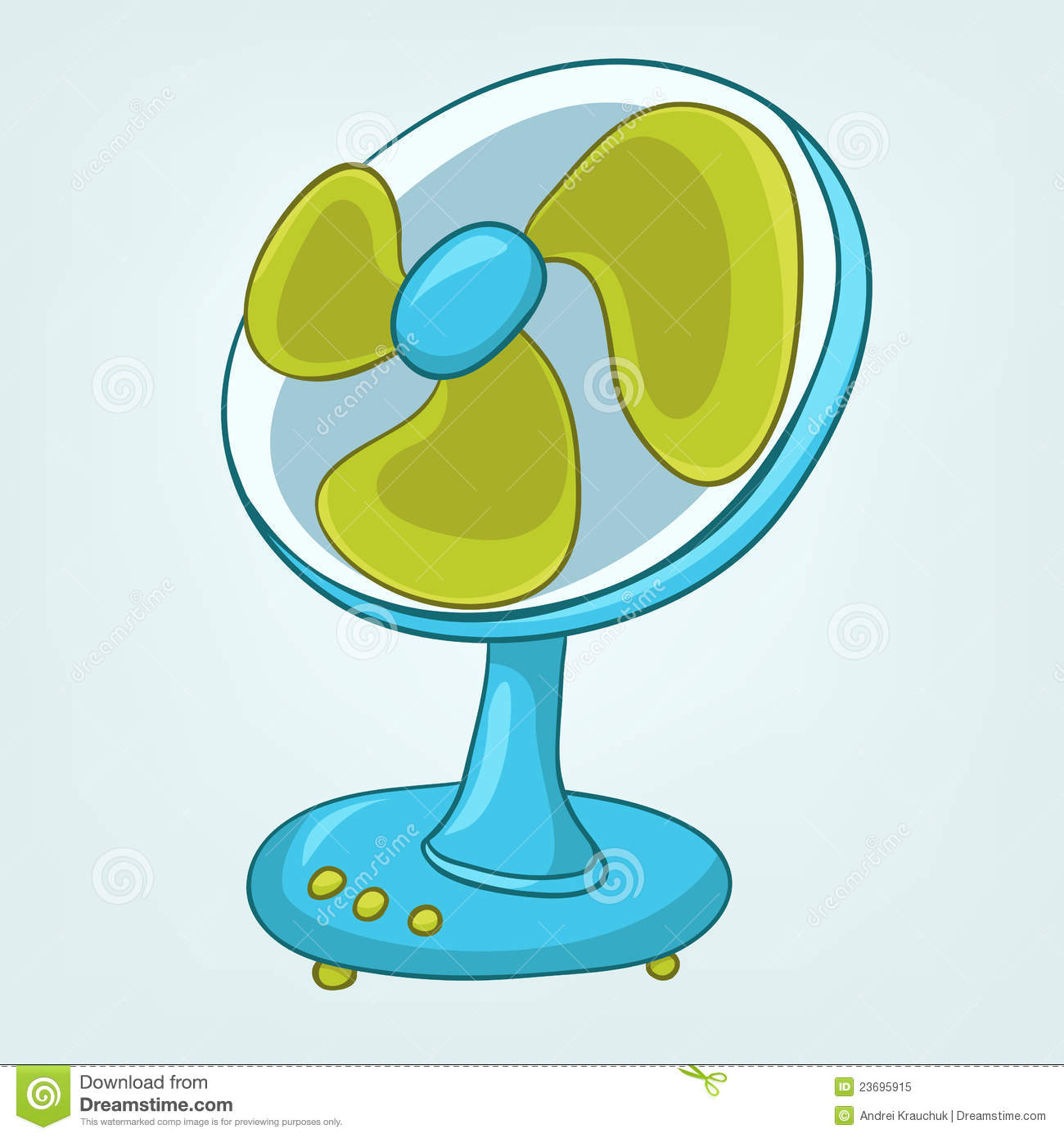Cartoons Home Appliences Fan Royalty Free Stock Photo ...